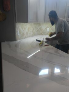 Authentic Granite Creations Installation